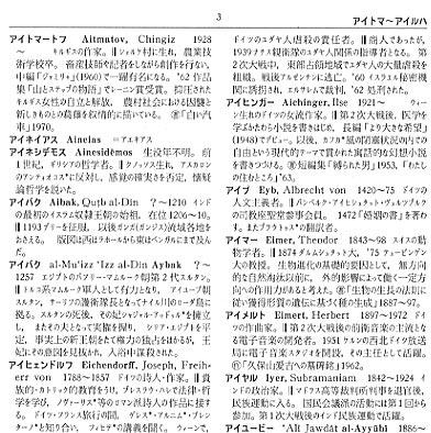 コンサイス外国人名事典