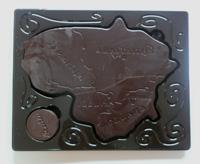 リトアニアのチョコレート(中身)