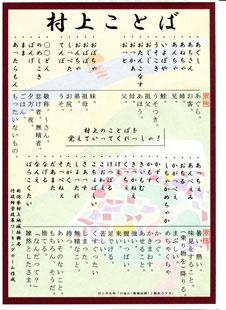 村上ことばポスター1