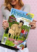 フィンランドの女子が購読する「馬の友」