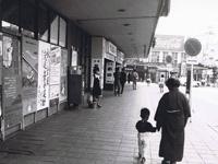 昭和47年の東岡崎駅前