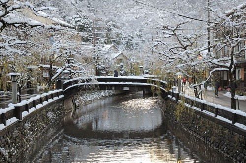 柳湯橋より(写真提供:城崎温泉無料写真集)