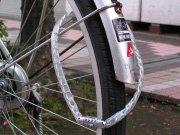自転車の鎖