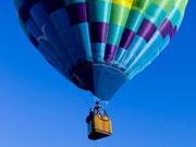 気球の写真(キャプションはかつてのCMソング)