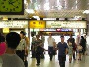 中野駅通路