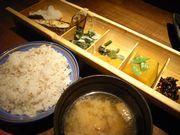 日替り焼き魚御膳¥850