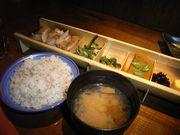 鶏の炙り焼き御膳¥850