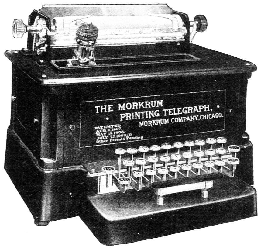 モークラム印刷電信機