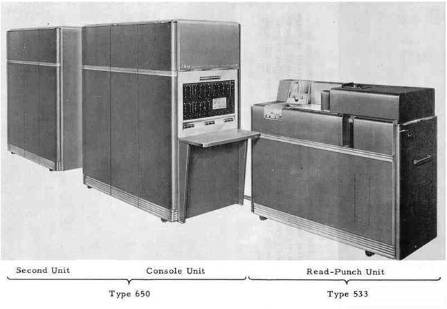 IBM 650とIBM 533