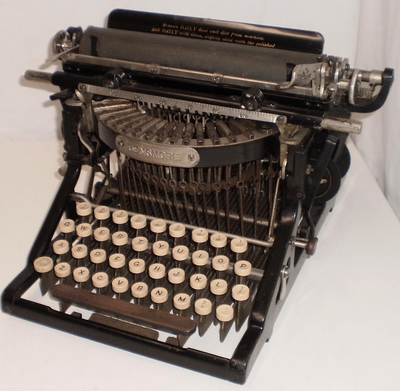 「Densmore Typewriter」