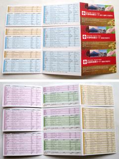 【写真1】災害時命綱カード(方言訳付)3地域分
