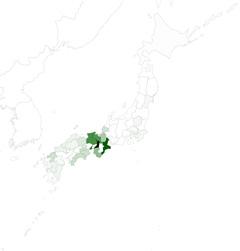 【図】地方議会会議録の「あほな」の出現頻度