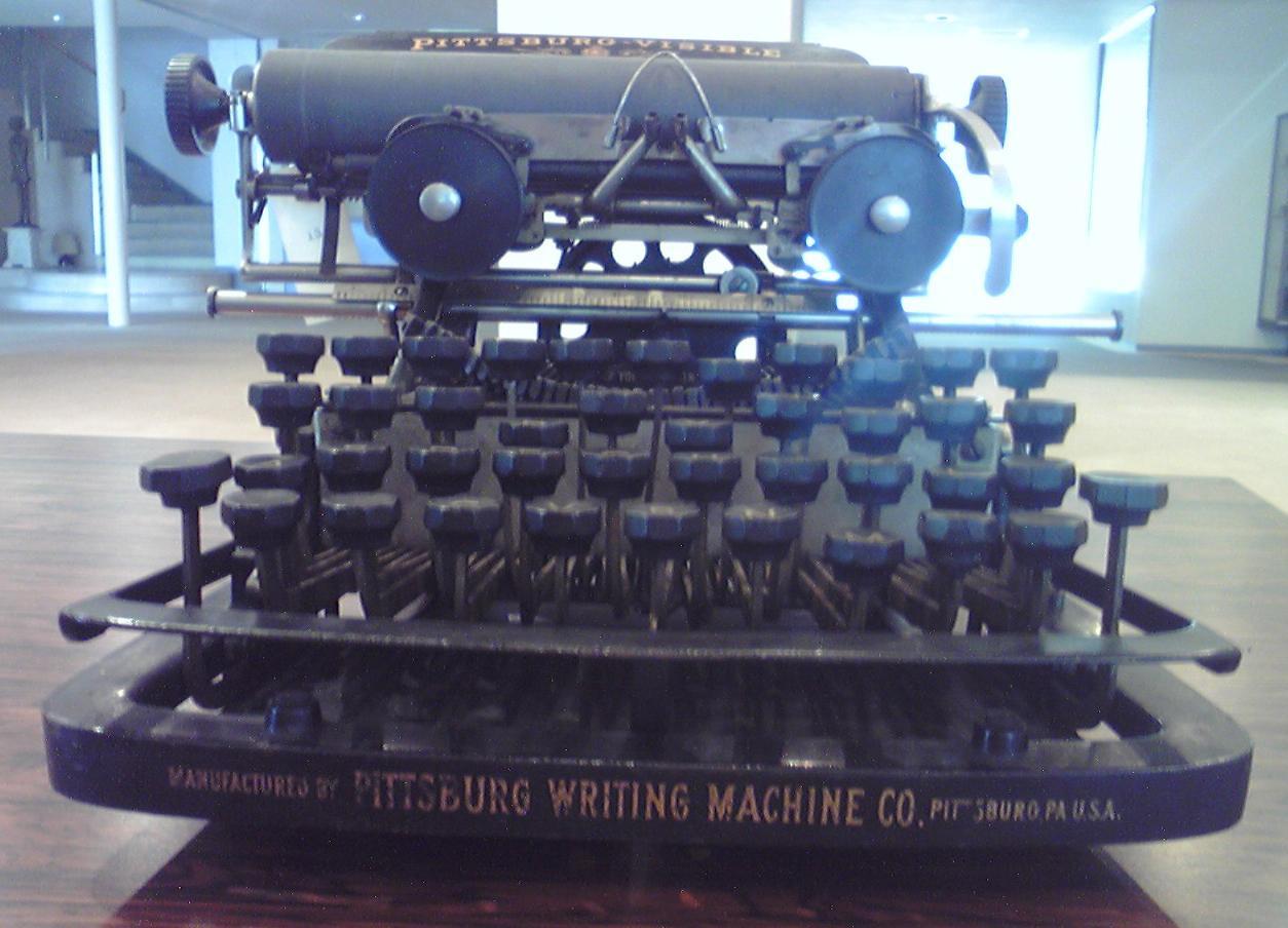 菊武学園の「Pittsburg-Visible Model No.10」前面