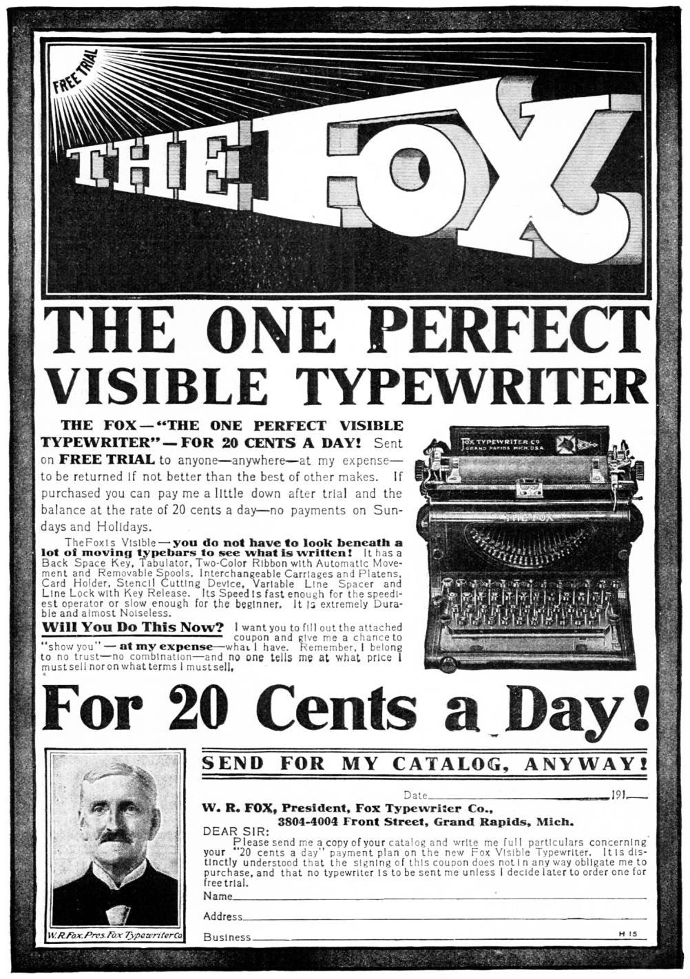 『Popular Mechanics』1911年4月号