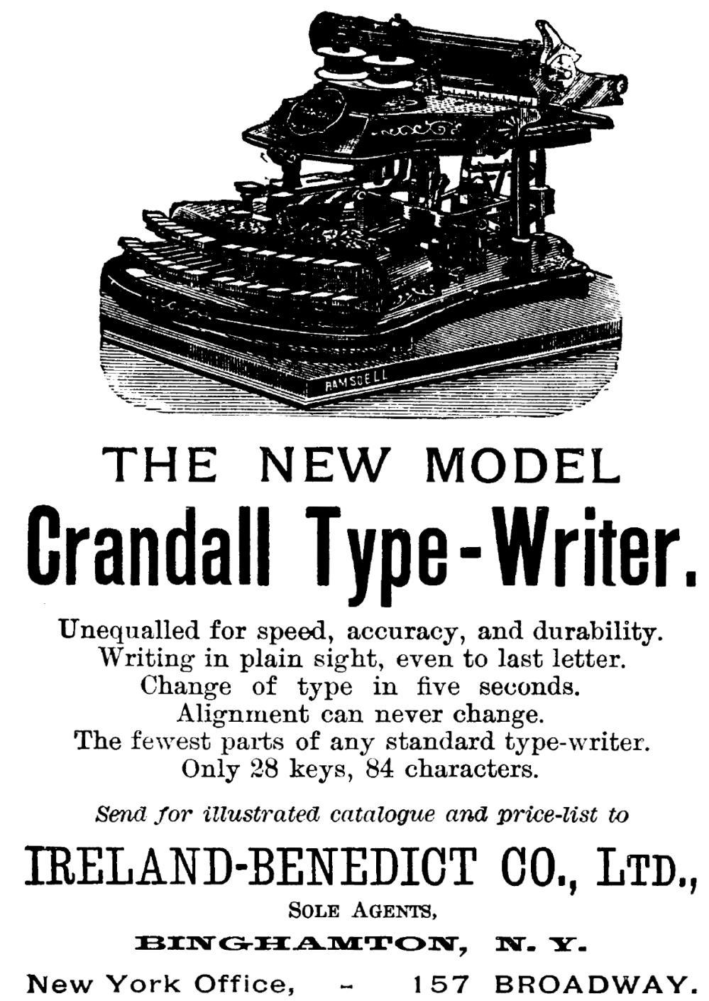 『Scribner's Magazine』1888年12月号