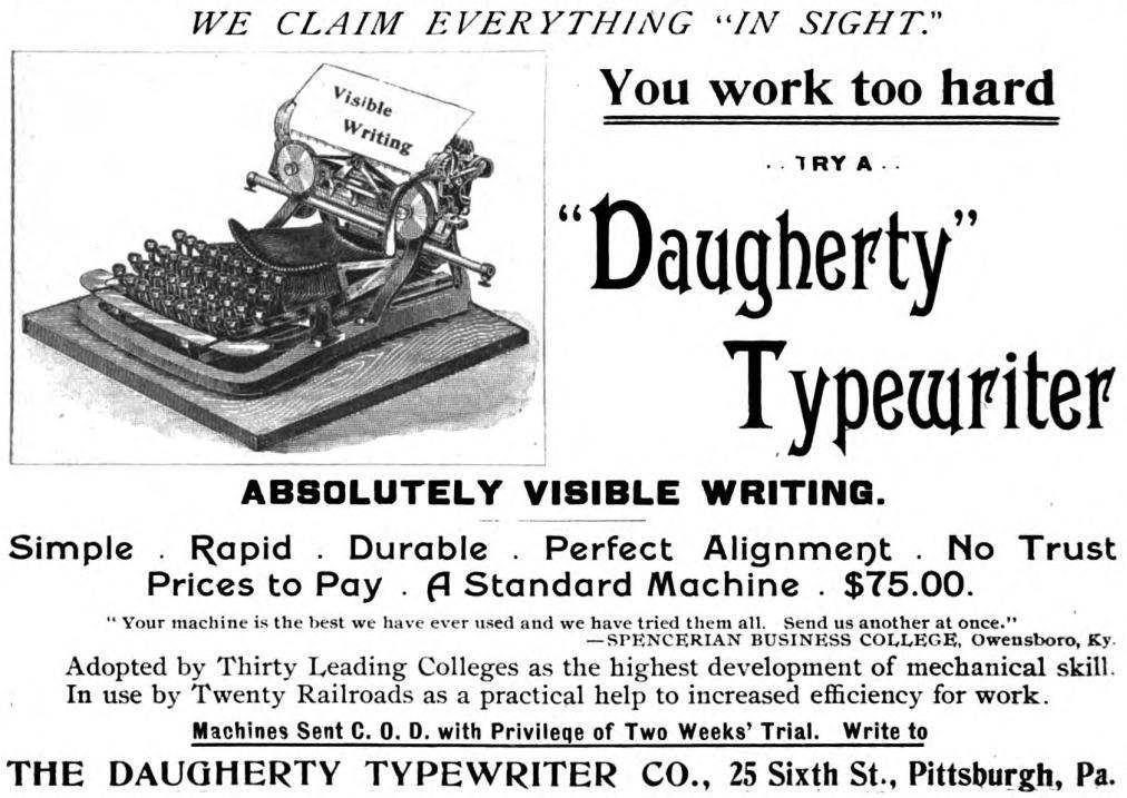 『Southern Magazine』1895年2月号