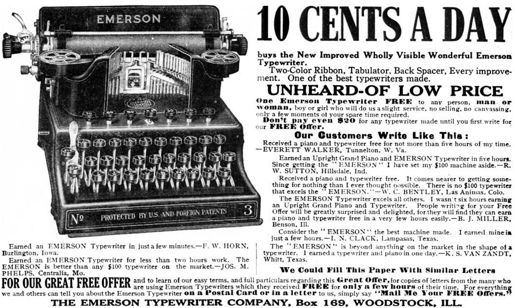 『Popular Mechanics』1911年8月号